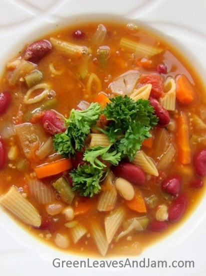 Vegetable and Bean Minestrone (2)