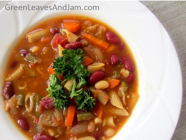 Vegetable and Bean Minestrone (3)