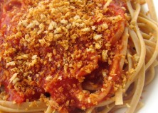Salted and Toasted Breadcrumbs, a Topping for Pastas or Salads
