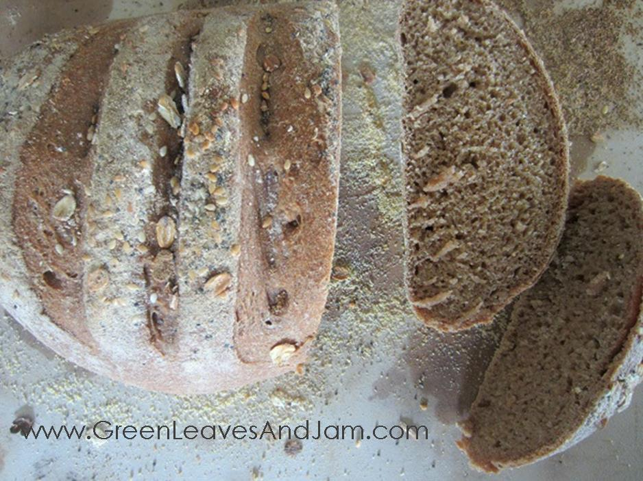 Whole Wheat Artisan Bread5