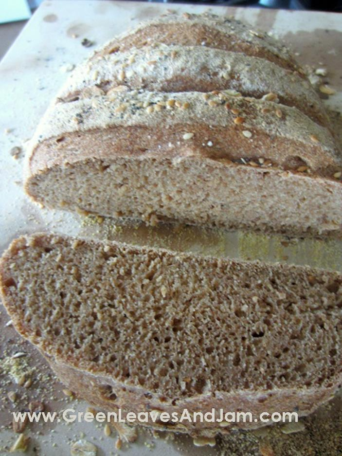 Whole Wheat Artisan Bread4
