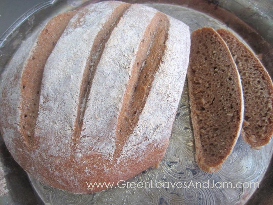 Whole Wheat Artisan Bread2
