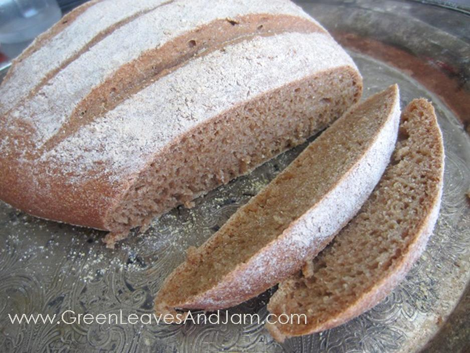 Whole Wheat Artisan Bread1