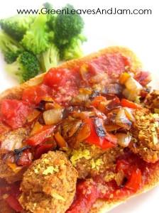 Lentil Meatball Sub1