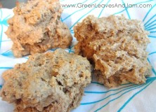 Easy Whole Wheat Drop Biscuits