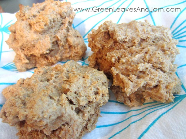 Whole Wheat Drop Biscuits