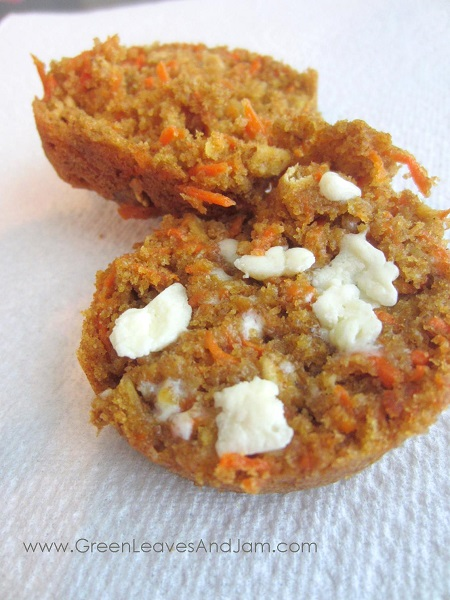 Spiced Carrot Cake Muffins
