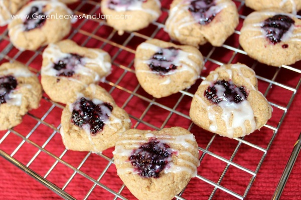 Healthy Thumbprint Biscuit Cookies