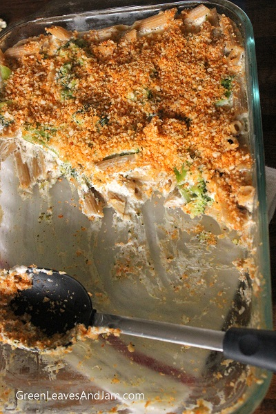 Cheezy Broccoli Casserole. GreenLeavesAndJam.com